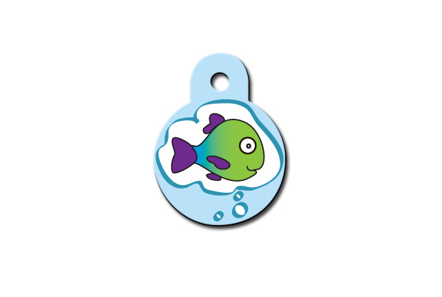 Premium - Circle Small Fish Dreams Print